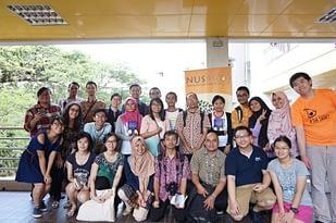 Dialog ACW dengan mahasiswa NUS1